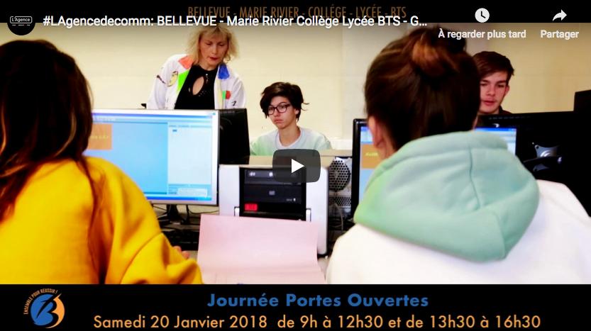 etablissement Bellevue Portes Ouvertes 20 janvier 2018