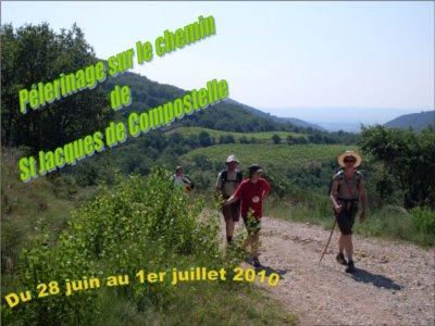 établissement Bellevue voyage Compostelle 2009/2010 - 1