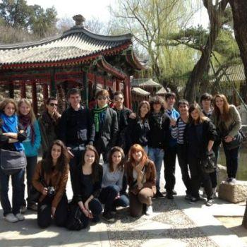 établissement Bellevue voyage Pékin 2011/2012 - 2