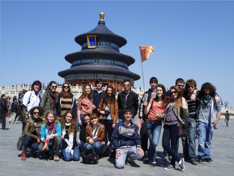 établissement Bellevue voyage Pékin 2011/2012 - 7
